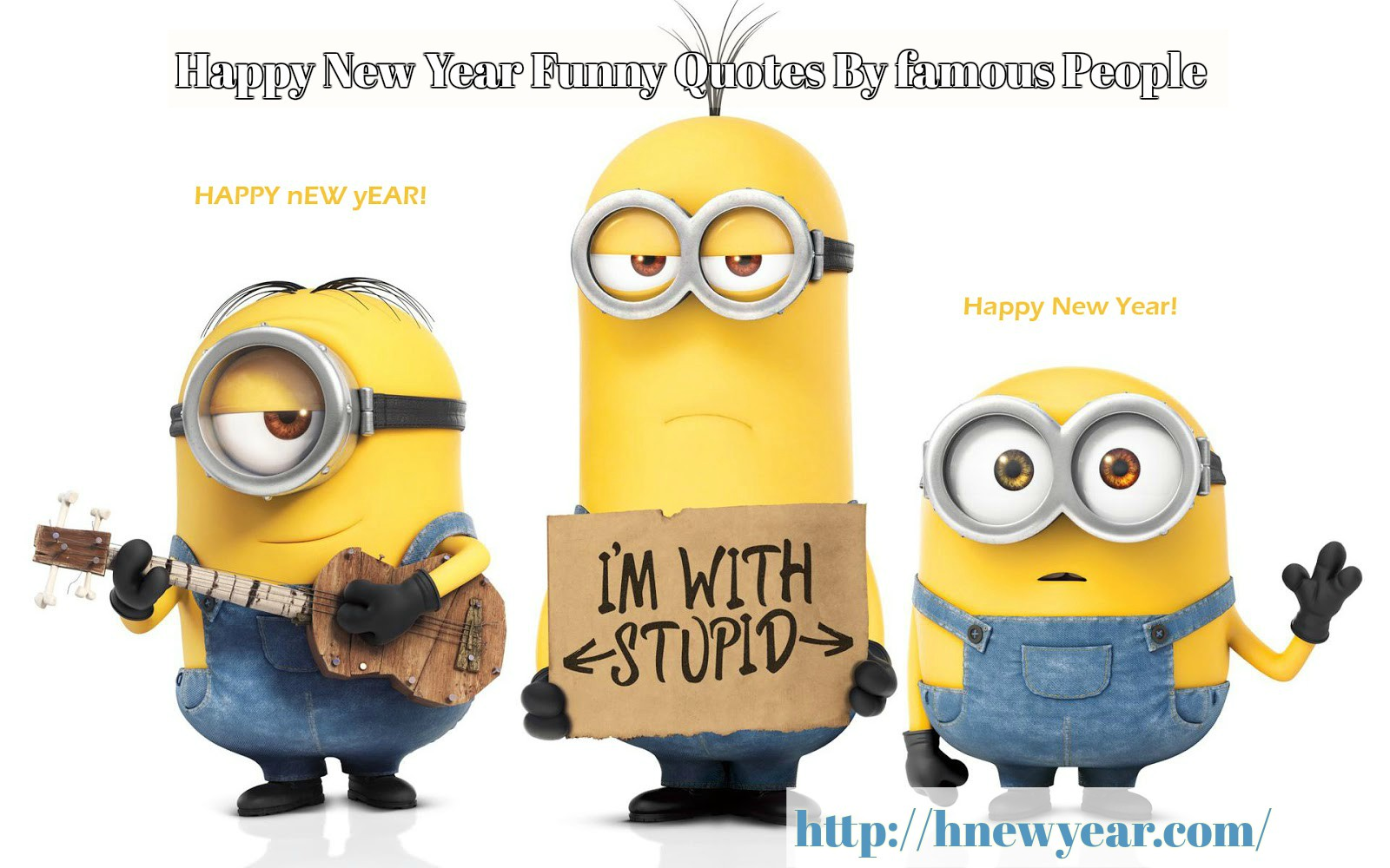30 Best Happy New Year Funny Quotes By famous People
