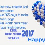 Interesting and Cool New Year Status 2017 Quotes for Friends
