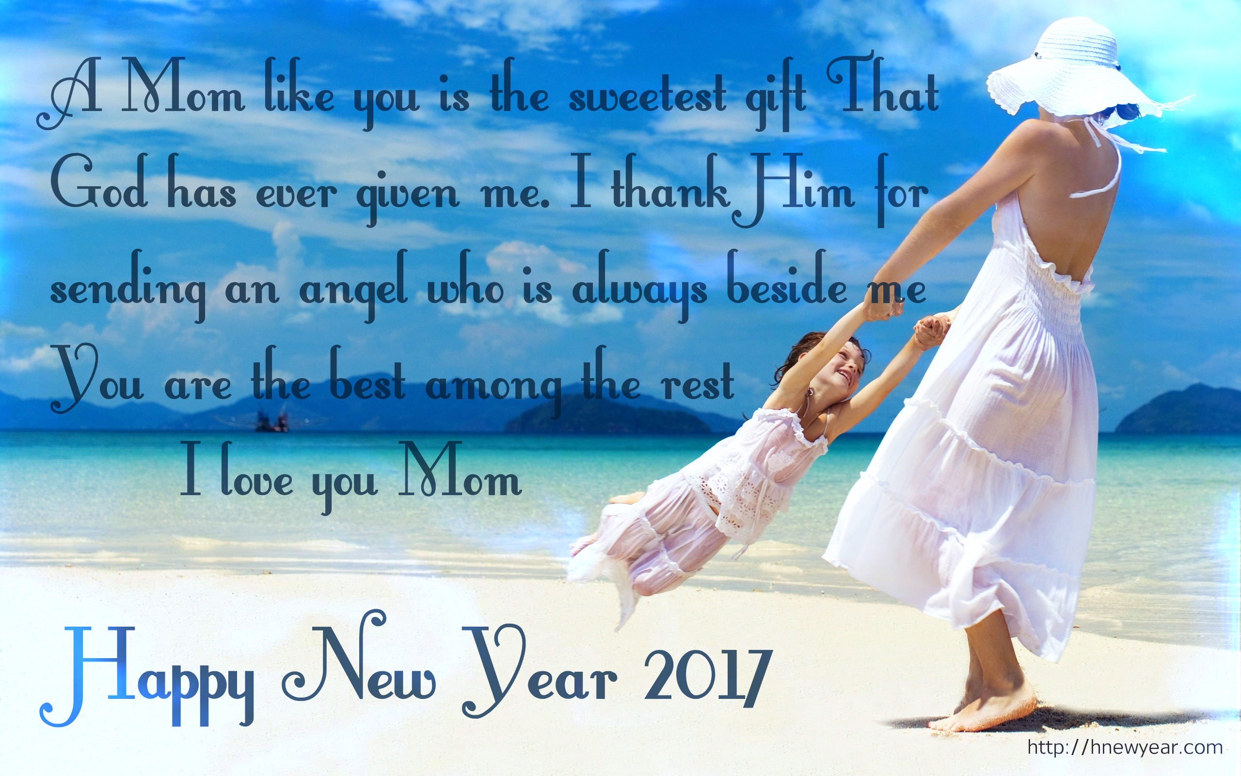 Image result for New Year Wishes Quotes 2017 for Mom