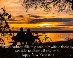 Best New Year Wishes for Wife 2017 17