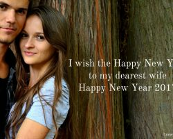 Best New Year Wishes for Wife 2017 50