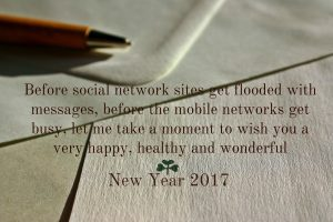 Best New Year Wishes 2017