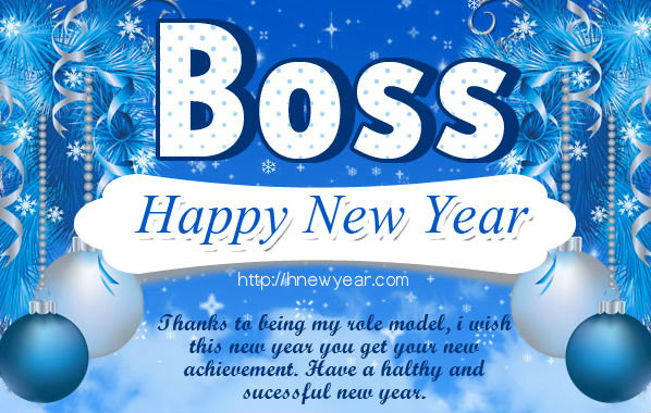 new year wishes for boss 2017