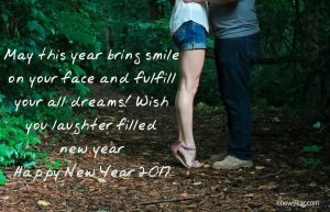 New Year Wishes for Lovers 2017