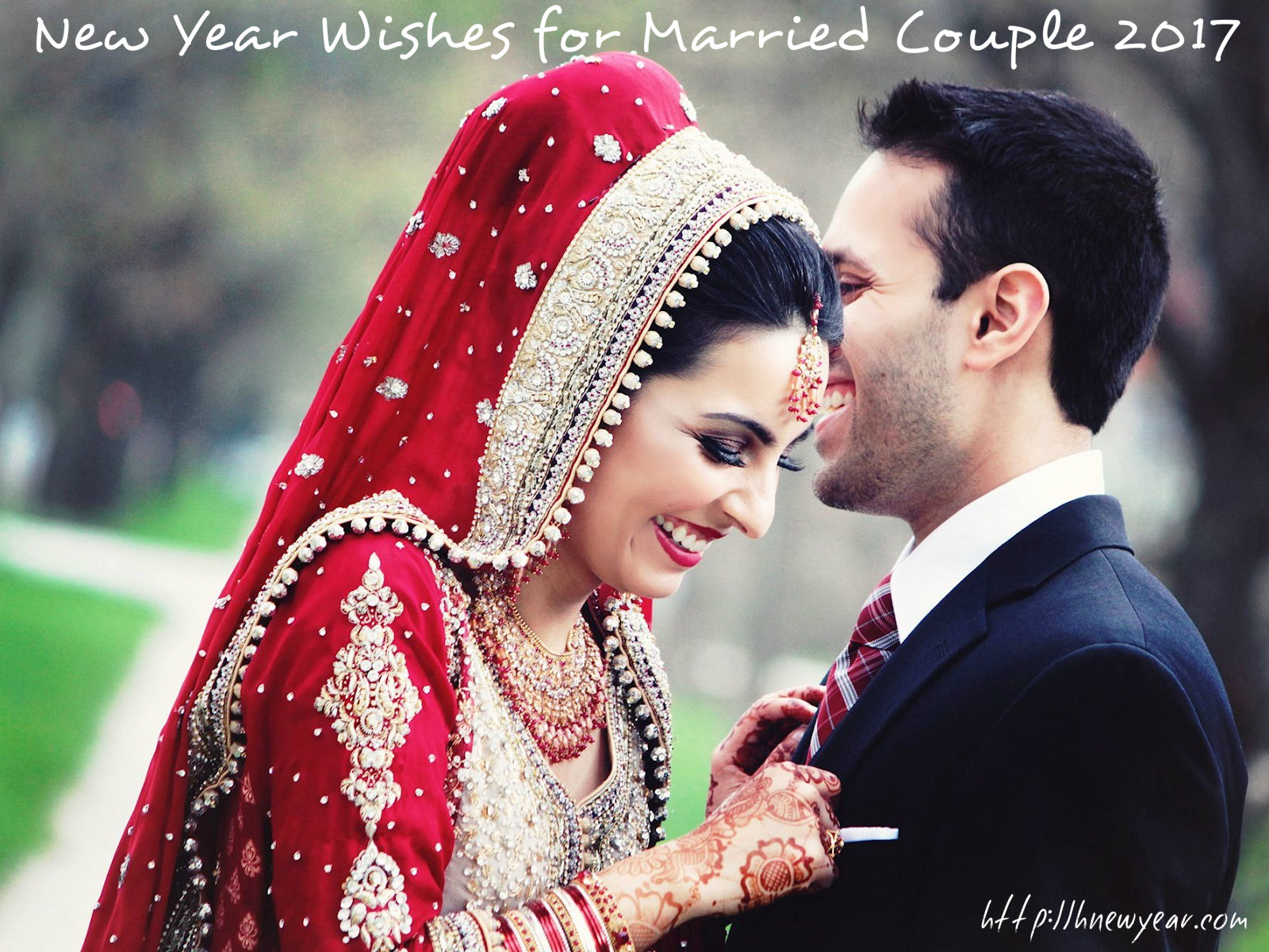 New Year Wishes for Married Couple 2017