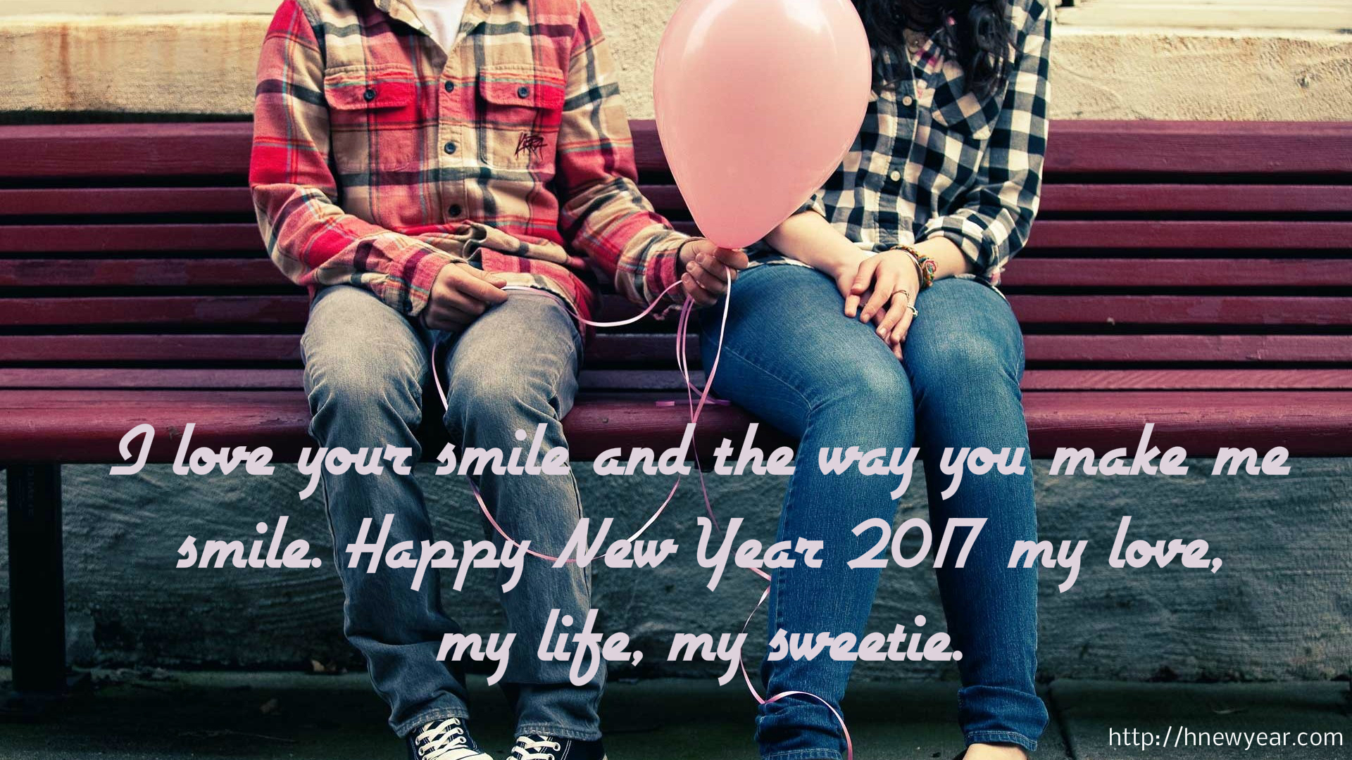 Romantic New Year Wishes for Wife 2017