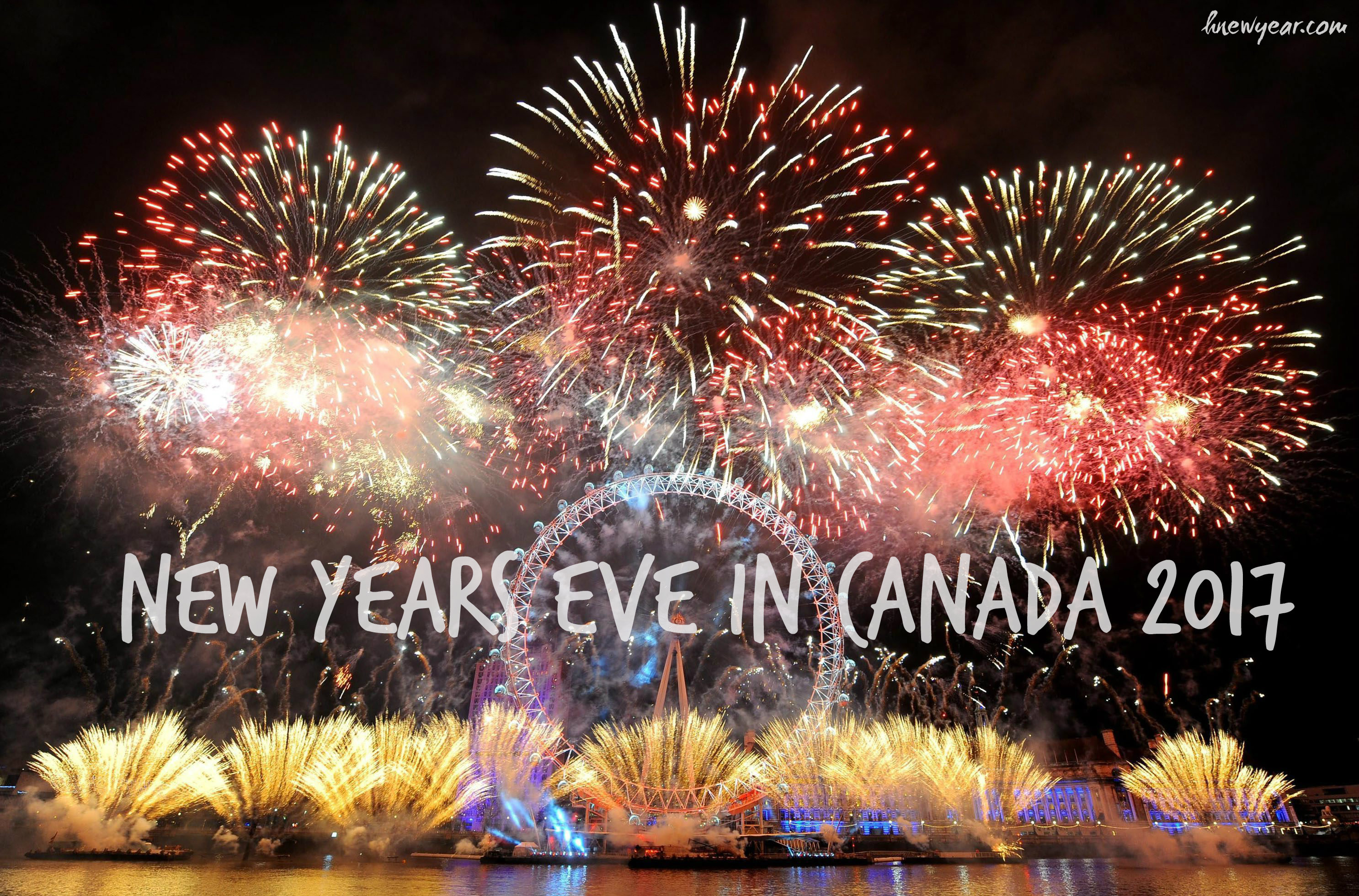 new years eve in canada 2017