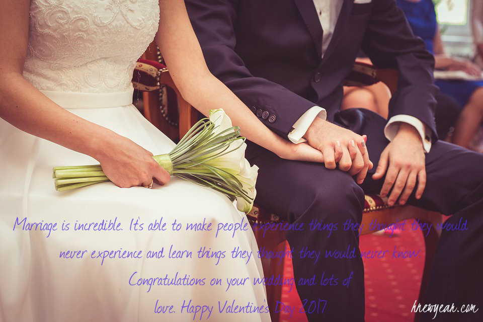 Valentine's Day Wishes for Married Couple